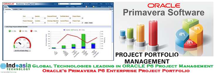 Reduced process times by 50% with Oracle's Primavera P6 EPPM