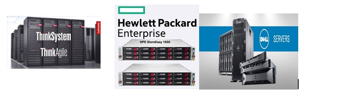 Indo Asia Global Technology Services offers DELL EMC, HPE, LENOVO Server & Storage comprehensive, cost efficient and packaged solutions